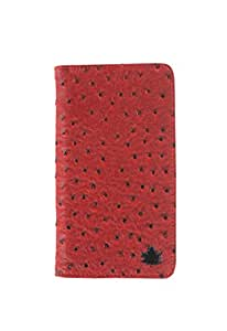 99 Maple pu leather pouch for Karbonn Titanium S19