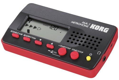 Korg MA-1BKRD Métronome numérique multi-fonction Noir/rouge