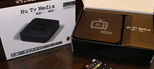 Nu Tv Media jailbroken streaming media device, 1080p encoder 4x Cpu 4x Gpu, Kodi 16.1 fully loaded 1G/8G
