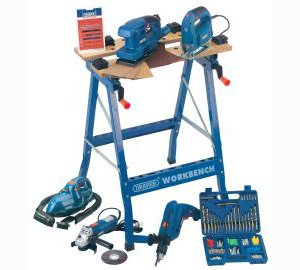 Draper Workbench Power Tool Kit