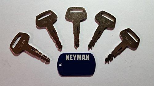 5-keyman-komatsu-equipment-keys