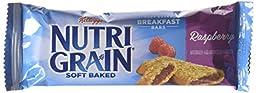 Nutri-Grain Cereal Bars, Raspberry, 8-Count Bars (Pack of 6)
