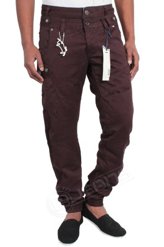 MEN DESIGNER BRANDED ETO CHINO CUFF JEANS EM294/EM295/EM296,3 COLOURS BNWT 28-42 (W40 32