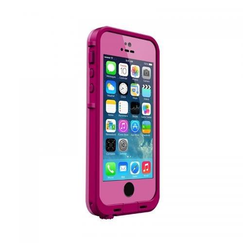 日本正規代理店品・保証付LIFEPROOF 防水防塵耐衝撃ケース LifeProof iPhone5/5s Fre Dark Magenta/Magenta 2115-04