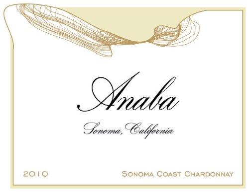 2010 Anaba Sonoma Coast Chardonnay White Wine