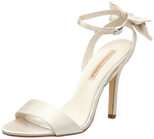 Menbur Wedding Womens Slingback 05881X704 Ivory 4 UK, 37 EU