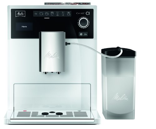 Melitta Caffeo Ci Fully Automatic Bean to Cup Coffee Maker, White