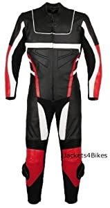 1PC NEW MOTORCYCLE LEATHER RACING SUIT ARMOR Red 44