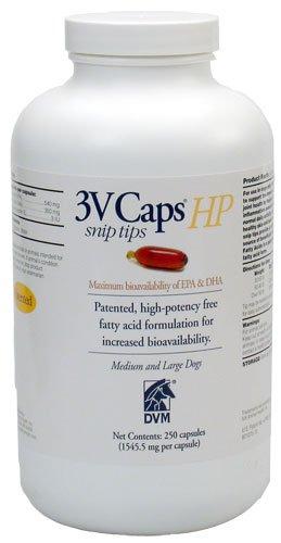 3V Caps HP SNIP TIP MED LRG DOGS, 250 Caps, 1545.5 mg/caps