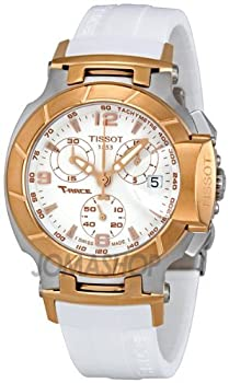 Tissot T Race Quartz White / Gold Women's Watch T048.217.27.017.00 from Tissot