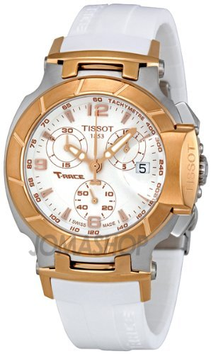 Tissot T Race Quartz White / Gold Women's Watch T048.217.27.017.00