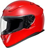 Shoei Solid RF-1100 Full Face Motorcycle Helmet - Monza Red / Medium