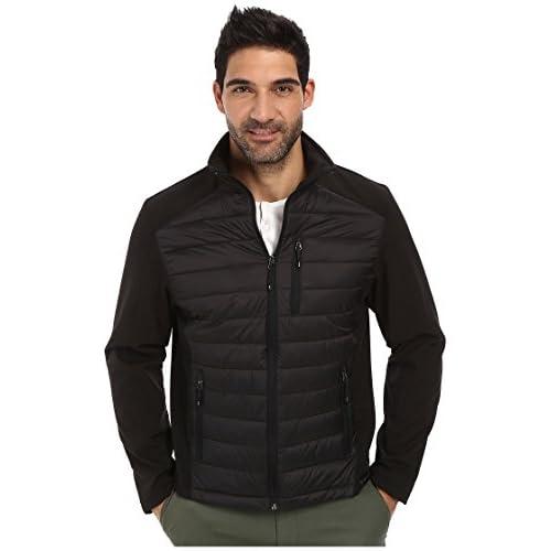 [カルバンクライン] Calvin Klein メンズ Mixed Media Jacket ジャケット Black XL [並行輸入品]