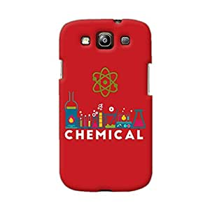 Gobzu Printed Back Covers for Samsung Galaxy S3 Neo - Chemical Red