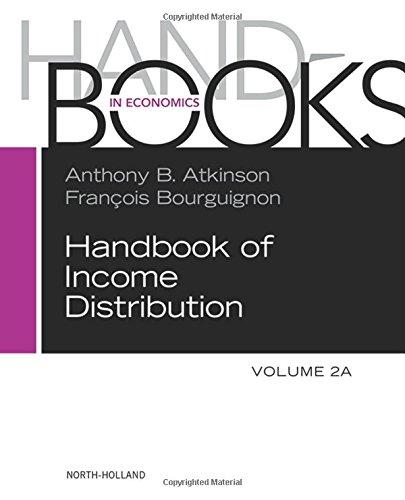 Handbook of Income Distribution: Volume 2A-2B