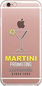 DailyObjects Martini Clear Case For iPhone 6S