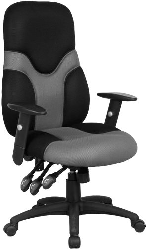 High Back Mesh Ergonomic Task Chair  Adjustable 