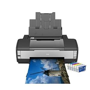 Epson - Stylus Photo 1400 - Imprimante photo jet d'encre couleur - 6 encres - USB
