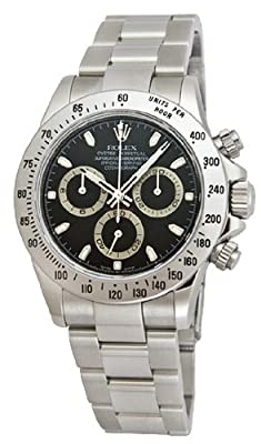 Rolex Daytona swiss-automatic mens Watch 116520BKSO (Certified Pre-owned)