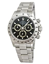 Best Price Rolex Daytona Black Index Dial Oyster Bracelet Mens Watch 116520BKSO