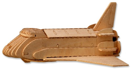 41BLC1o2nML Cheap Buy  3 D Wooden Puzzle   Small Space Shuttle Model  Affordable Gift for your Little One! Item #DCHI WPZ P054A