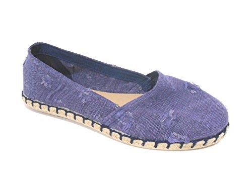 Gioseppo 27341 campanar scarpe donna espadrillas basse blu jeans n° 39