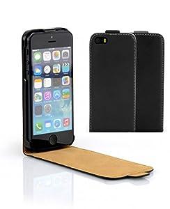 iPhone 5 5S ECHTLEDER Ledertasche Tasche Hülle Schutzhülle