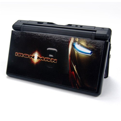 IRON MAN Decorative Protector Skin Decal Sticker for Nintendo DS Lite