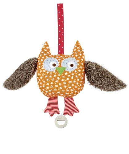 Kathe Kruse - Alba the Owl Musical Toy