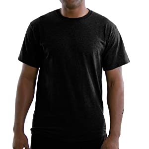Russell Athletic Men's Basic T-Shirt, Black, XXX-Large