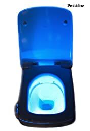 Toilet Bowl Light Motion Activated by PROKITLINE- Fits Any Bowl - Best Quality Bowl Light - Select One From 8 LED Colors Or Automatic Color Rotation - Best Gift Light Bowl