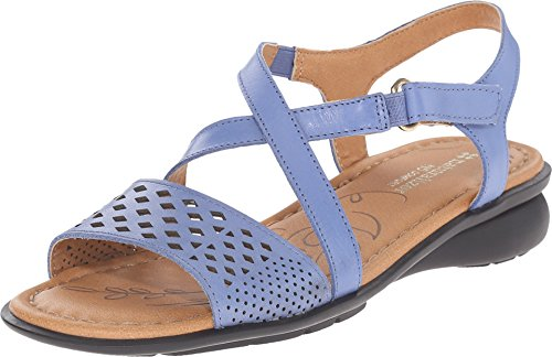Naturalizer Women's Janessa Ocean Blue Leather Sandal 7.5 M (B) (Naturalizer Womens Sandals compare prices)
