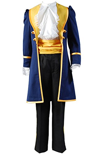 Firecos Beauty and the Beast Prince Adam Cosplay Halloween Costume