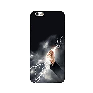 iSweven printed iph6sp_3279 Black Sky Design Multicolored Matte finish Back case cover for Apple iPhone 6s plus