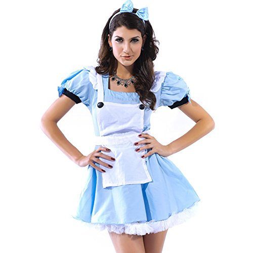 LFDDR Women's Sexy Costume Wonderland Alice Cosplay Party Costumes