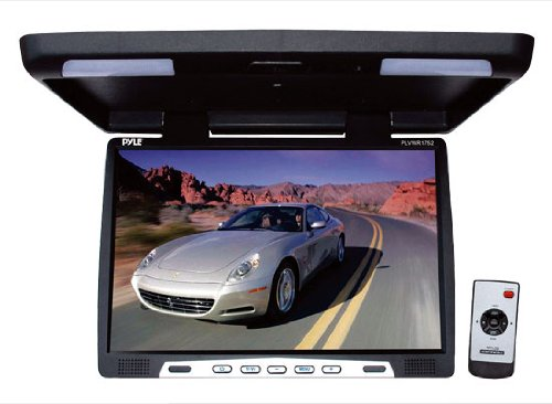 Pyle PLVWR1752 18.5-Inch Wide-Screen TFT LCD Roof Mount Video Monitor with IR Transmitter
