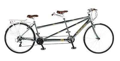 Viking Ascot Tandem, 21 Speed, 700c Wheel Bike, Grey