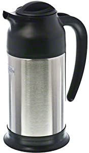 Update International SV-70 Stainless Steel Vacuum Insulated Cream Server, Black, 24-Ounce from Update International