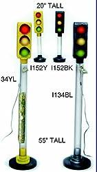 Fantazia I134BL 55 Electrified Traffic Light Bank - Black