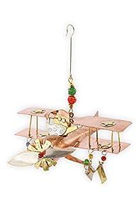 Pilgrim Imports Santa Bi Plane Fair Trade Ornament