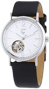 ETT Eco Tech Time Damen-Armbanduhr XS Motion Drive Analog Automatik Leder ELS-40145-41L