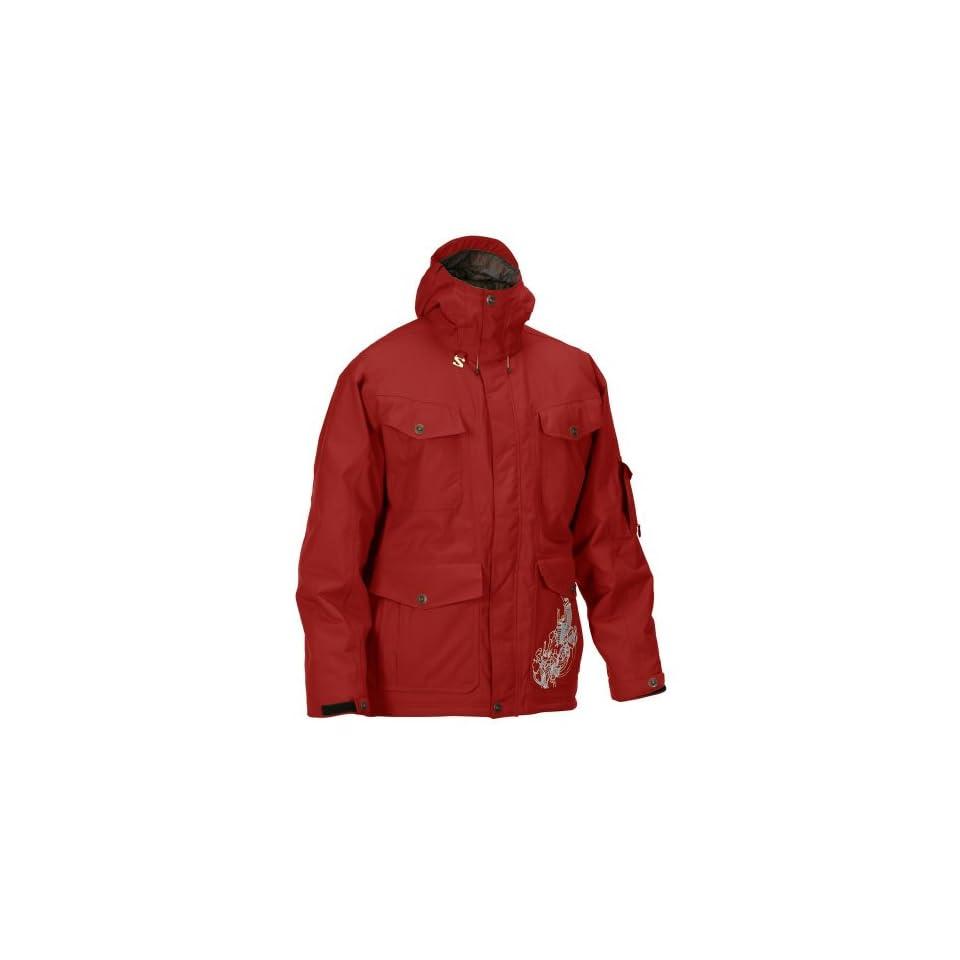 neu kaufen sale akribische Färbeprozesse Salomon Gangster Jacket Mens Vermillion X Extra Large on ...
