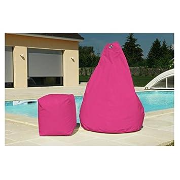 jura textiles pouf poire poire fuschia pouf poire fuschia cuisine maison m238. Black Bedroom Furniture Sets. Home Design Ideas