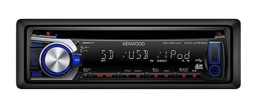 Kenwood KDC-4751SD SD-Card Reader  MP3/WMA/AAC/CD-Receiver with Front AUX/USB Music Inputs and iPod/iPhone Control