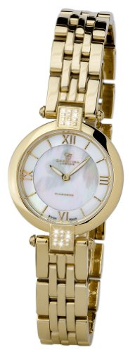 Christina Design London Ladies 24 Diamond Watch 135GW With Gold Pvd Bracelet