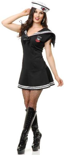 WWII Sailor Gal Adult Costume - X-Large