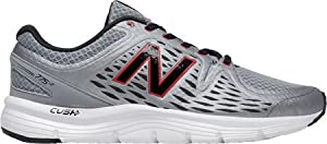 New Balance Men's M775V2 Running Shoe, Grey/Red, 12 D US