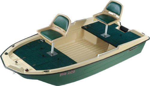 KL Industries Sun Dolphin Pro 120 Fishing Boat
