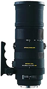 Sigma 150-500mm f/5-6.3 AF APO DG OS HSM Telephoto Zoom Lens for Canon Digital SLR Cameras