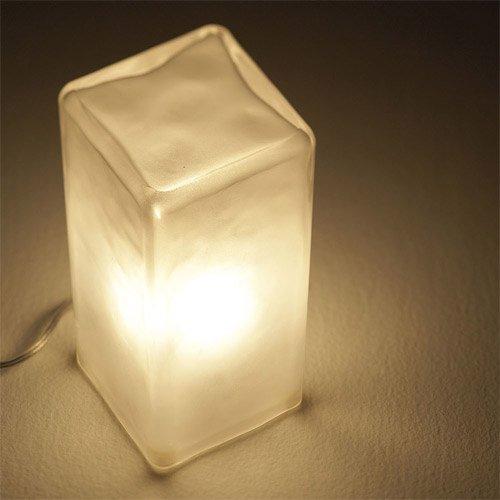 FROSTY BLOCK LAMP (フロスティー ブロック ランプ) AW-0332